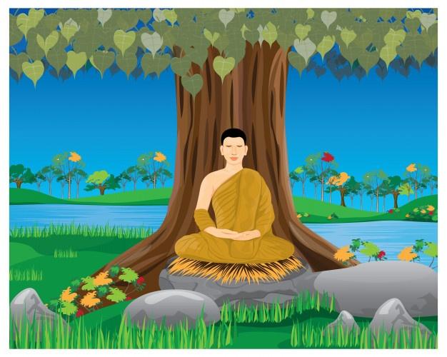 仏陀の瞑想