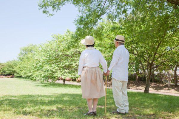 老夫婦の老後生活